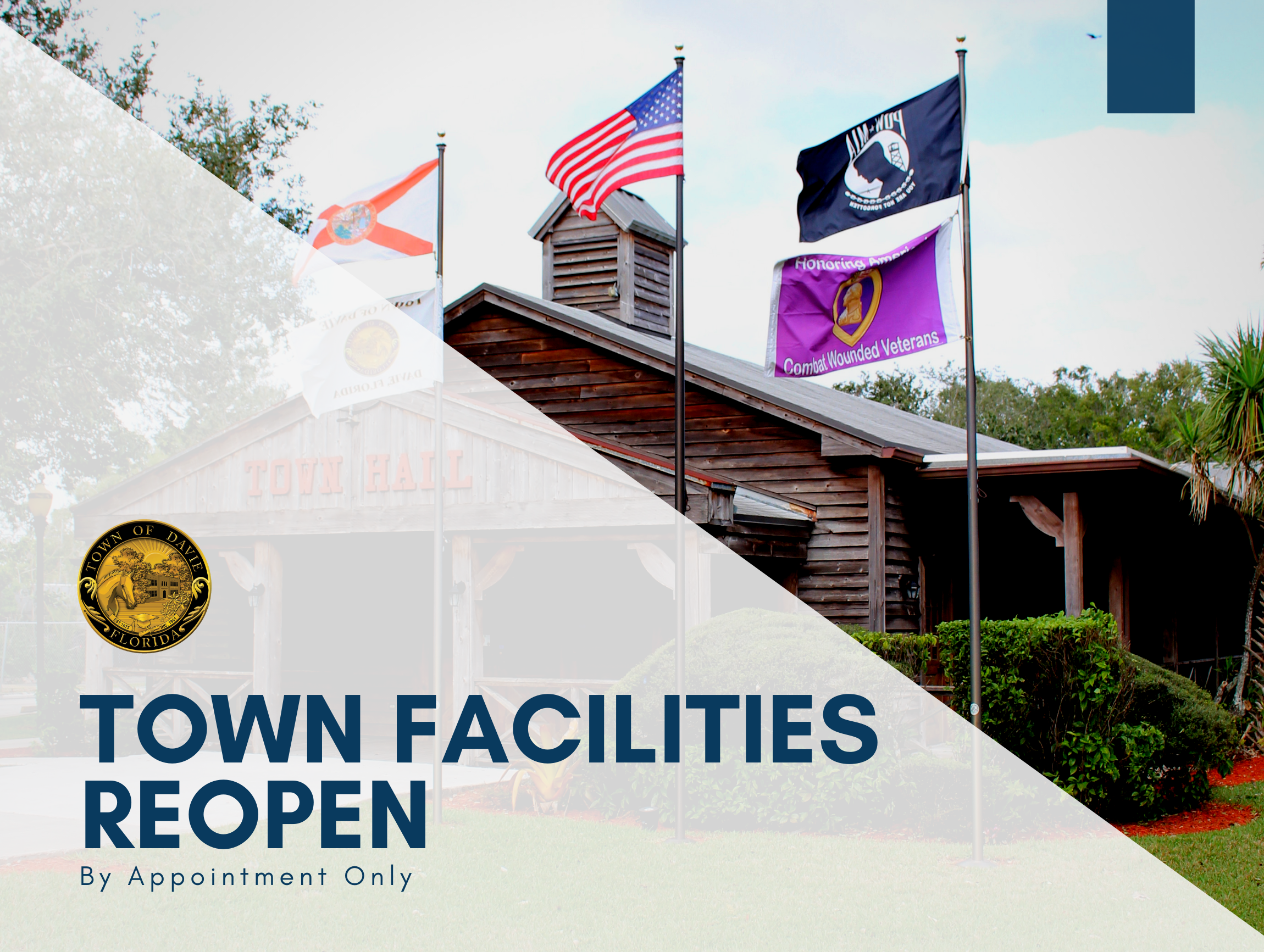 Town Facilities Reopen