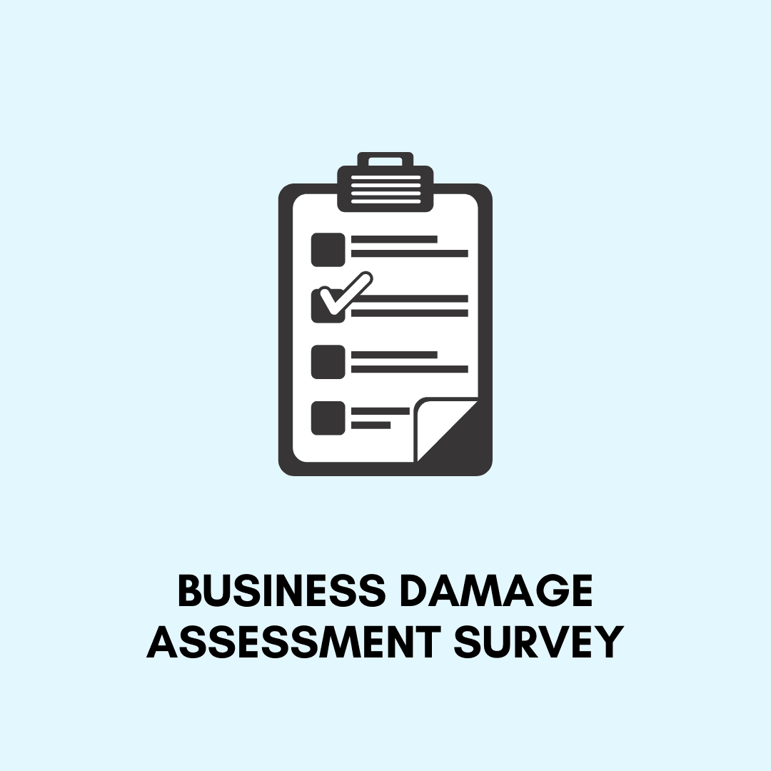 Business Damage Assessment Survey Opens in new window